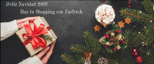 Compras navideñas en Farfetch